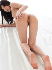 Shino Aoi loves showing off her body and getting her body parts fucked on cam