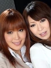 Yunno and Jun enjoy posing so much